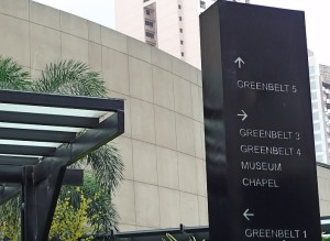 Greenbelt, The Exclusive Shopping Mall