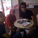Bersama Personil Armada di KFC depan Sutos Surabaya