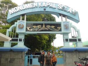 Monumen Kapal Selam di Kota Surabaya
