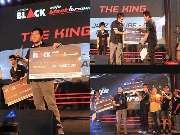 The King of Autoblackthrough 2013 Surabaya