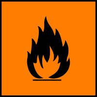 Lambang Flammable