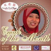 Emak of The Month September 2013