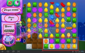 Bermain Candy Crush Saga