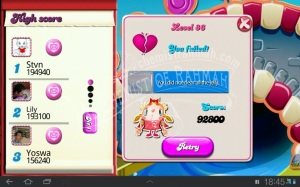 Bermain Candy Crush Saga