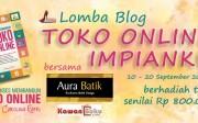 Lomba Blog Toko Online
