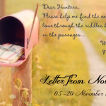 Ikuti Giveaway Letter from Novemberian