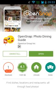OpenSnap Installed