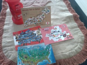 Postcards Map from Others Countries