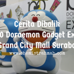 Cerita Dibalik 100 Doraemon Gadget Expo di Grand City Mall Surabaya