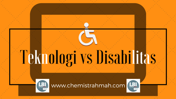 Teknologi vs Disabilitas