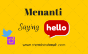 Menanti Saying Hello