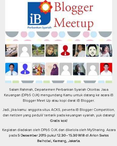 Blogger MeetUp Perbankan