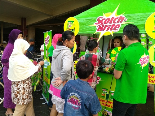 Antri di Booth Scotch-Brite