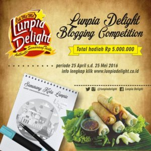 Banner Lunpia Delight Competition