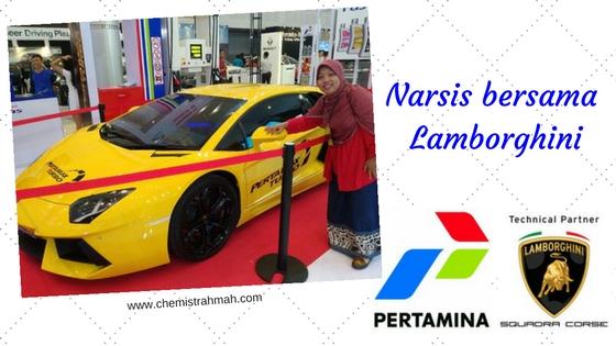 Narsis bersama Lamborghini