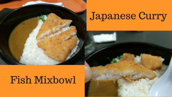 Japanese Curry Fish Mixbowl