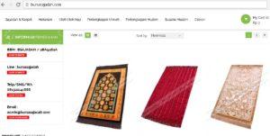Website Bursa Sajadah