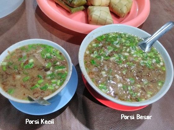 Porsi Coto Makassar Daeng Mochtar