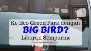 Ke Eco Green Park dengan Big Bird