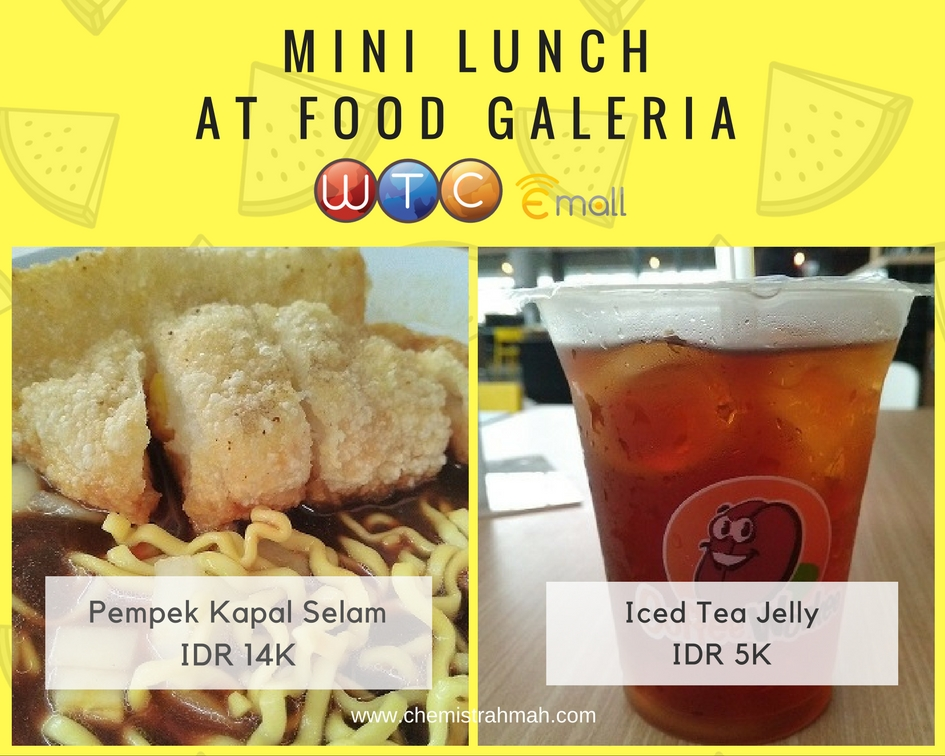 Mini Lunch at Food Galeria