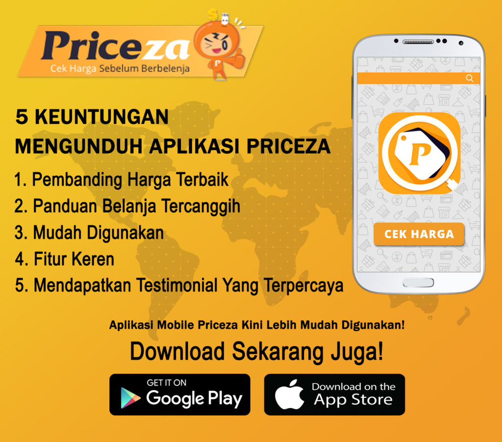 Keuntungan Download Priceza