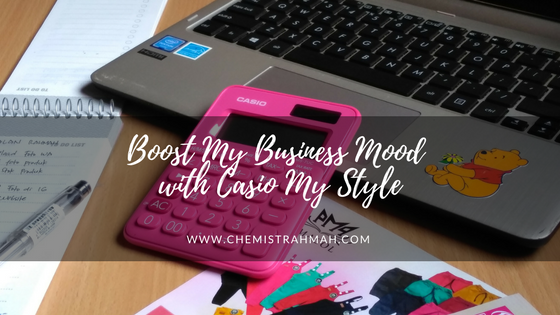 Boost My Business Mood with Casio My Style