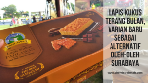 Lapis Kukus Terang Bulan, Varian Baru sebagai Alternatif Oleh-Oleh Surabaya